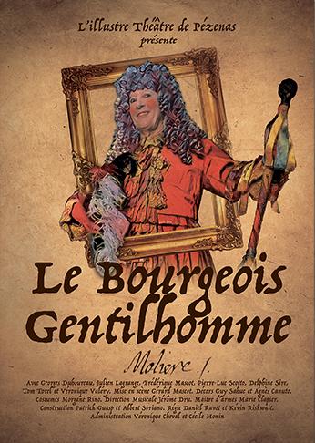 Les Fourberies de Scapin, pièce de Molière, jouée à L'illustre Théâtre de Pézenas.